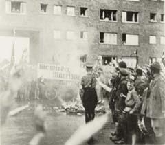 Buecherverbrennung Ludwigshafen 7.5.1933