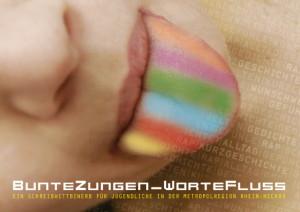 Schreibwettbewerb – »BunteZungen_WorteFluss«